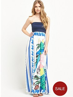 replay-strapless-maxi-dressnbsp