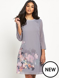 little-mistress-floral-print-shift-dress