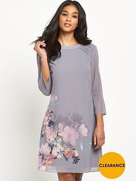 little-mistress-floral-print-shift-dress