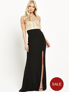 forever-unique-eclipse-embellished-2-in-1-maxi-dress