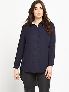 lovedrobe-lovedrobe-curve-drop-hem-shirt-with-jewel-collar-detail-sizes-14-26