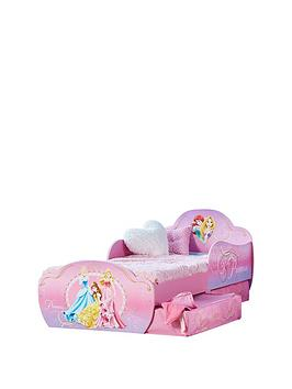 Disney Princess Toddler Bed with storage by HelloHome