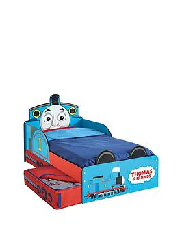 Thomas & Friends Thomas the Tank Engine Toddler Bed with storage by HelloHome