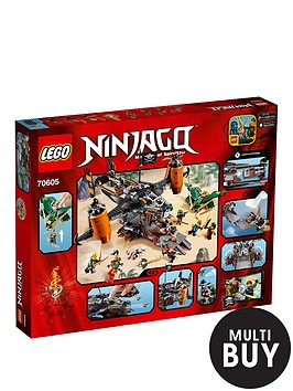 lego-ninjago-misfortunes-keep-70605-amp-free-lego-city-brickmaster