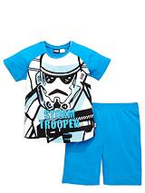 Boys StormtrooperShorty Pyjamas