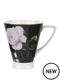 ted-baker-rosie-lee-footed-mug-black