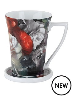 ted-baker-technicolour-bloom-flared-mug-and-coaster