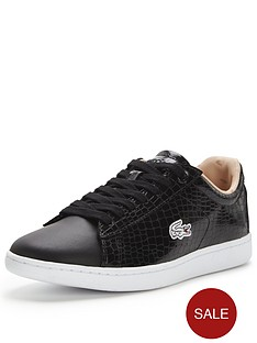 lacoste-carnaby-evo-black-croc-trainer