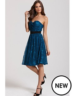 little-mistress-teal-lace-bandeau-prom-dress