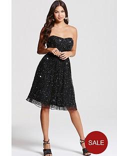 little-mistress-black-bandeau-embellished-prom-dress
