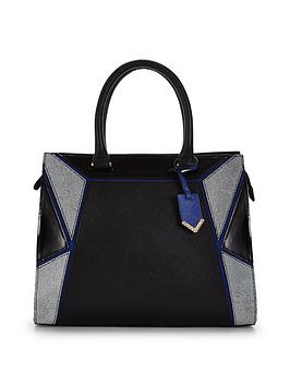 colour-block-geometric-panel-patchwork-bag