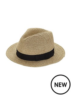 metallic-trilby