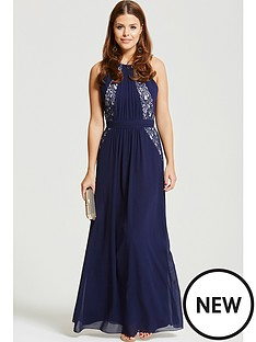 chloe-lewis-chloe-lewis-navy-exposed-back-maxi-dress