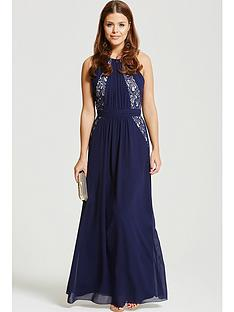 little-mistress-chloe-lewis-collection-exposed-back-maxi-dress