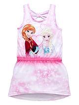 Girls Anna and Elsa Summer Dress