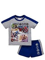 AVENGERS TEE AND SHORT SET