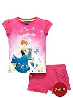 disney-frozen-girls-frozen-tee-and-shorts-set