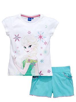 disney-frozen-girls-elsa-t-shirt-and-shorts-set