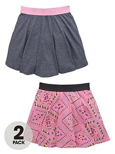 v-by-very-girls-aztec-elasticatednbspskirts-2-pack