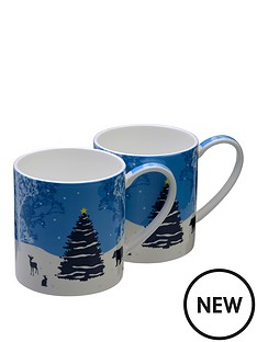 arthur-price-winterwonderland-bone-china-mugs-set-of-2