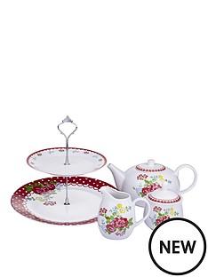 vintage-rose-fruit-tea-set-4-piece