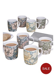 william-morris-8-piece-mug-set