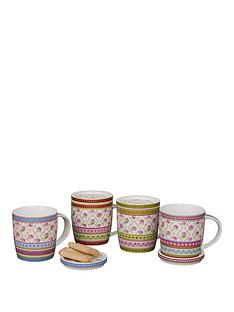 roses-4-piece-mugs-with-matching-lids
