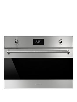 smeg-sf4309mx-60cm-built-in-electric-microwave-oven-with-grill