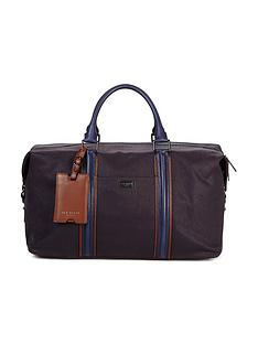 ted-baker-ted-baker-canvas-and-leather-holdall