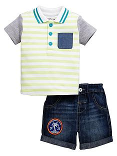 ladybird-baby-boys-polo-shirt-and-denim-shorts-2-pack