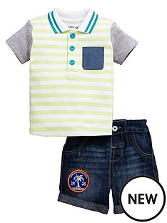 ladybird-baby-boys-polo-top-amp-denim-shorts
