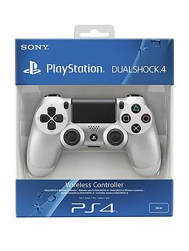 playstation-4-sony-playstation-4-silver-dualshock-controller