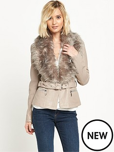 river-island-faux-fur-fitted-belted-jacket