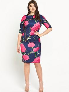 ax-paris-curve-ax-paris-curve-bodycon-printed-dress