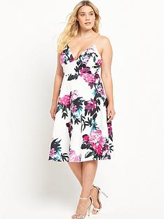 ax-paris-curve-floral-print-dress