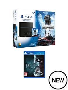 playstation-4-ps4-1tb-star-wars-battlefront-bundle-with-until-dawn