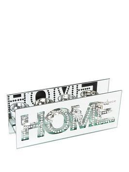 Hestia Mirror &Amp Crystal TeaLight Holder &Ndash Home