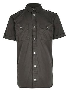 river-island-boys-khaki-military-shirt