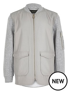 river-island-boys-nylon-zip-bomber-jacket