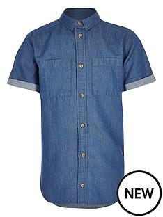 river-island-boysnbspshort-sleeve-denim-shirt