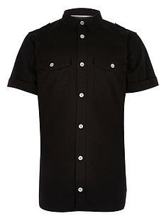 river-island-boys-black-washed-utility-shirt