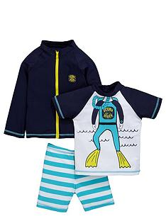 ladybird-boys-diver-sunsafenbspjacket-top-and-shorts-set-3-piece