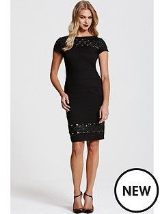 paper-dolls-paper-dolls-black-cap-sleeve-dress-with-black-sequin-panels