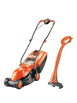 Flymo Visimo Rotary Mower With Free Mini Trimmer
