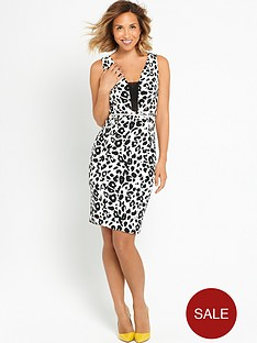 myleene-klass-leopard-print-mini-dress