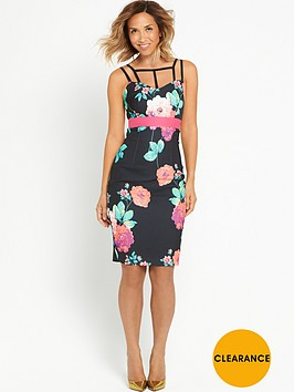 myleene-klass-floral-print-bodycon-dress