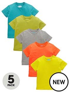 ladybird-boys-5pk-tshirts