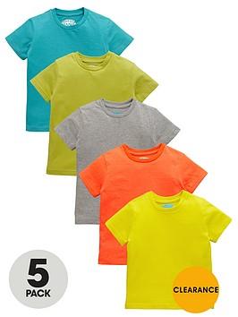 ladybird-boys-bright-t-shirts-5-pack