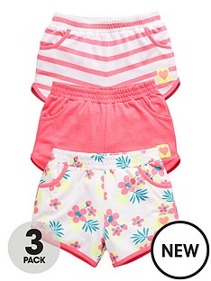 ladybird-girls-3pk-jersey-shorts