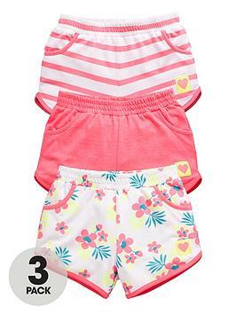 ladybird-girls-jersey-summer-shorts-3-pack